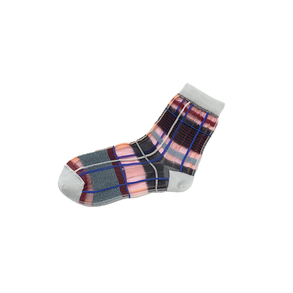 TRICOTE/multi check socks