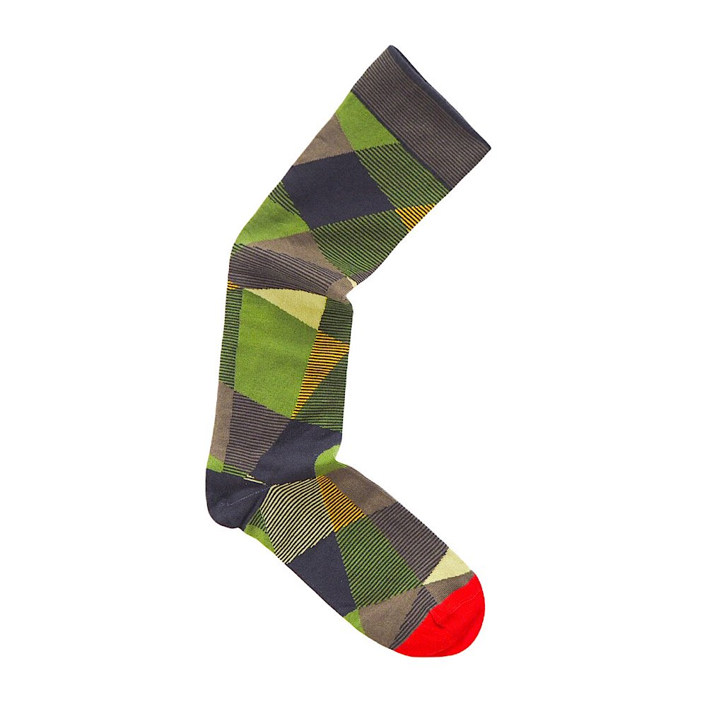 Bonne Maison/【Nabis】Knee-Highs Multico Abstract