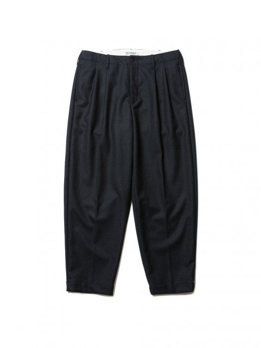 COOTIE / Wool 2 Tuck Trousers