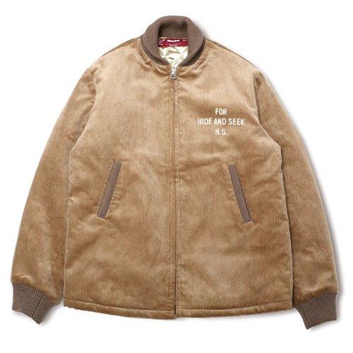 HideandSeek / Cord Sports Jacket