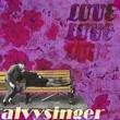 ALVYSINGER - LOVE[blue lambretta records & publishing/Jpn]9trks. CDR