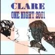 CLARE - ONE NIGHT 2001 (CD)