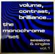 THE MONOCHROME SET - VOLUME,CONTRAST,BRILLIANCE[Cherry Red]'83/14trks. LP  (ex++/vg-)