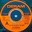 NEIL HARRISON - EYES IN THE BACK OF MY HEAD[deram/uk]'74/2trks.7 Inch