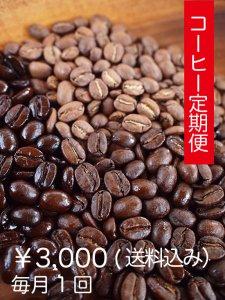 コーヒー定期便3,000円