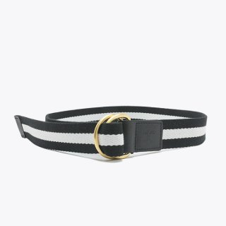Raise8apparel COTTON TAPE BELT - BLACK