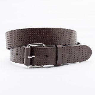 New Punching Star[Brown] / 38mm Genuine Leather ITALY