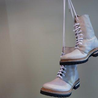 incarnation calf leather combat boots goodyear vibram soles(11126-7265)