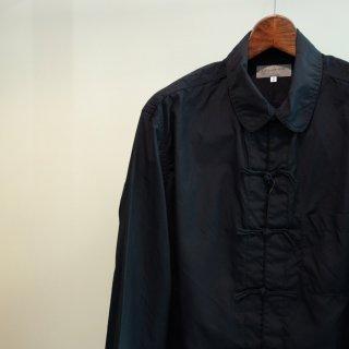 YOHJI YAMAMOTO チャイナ環縫いシャツ(HR-B09-002)BLK