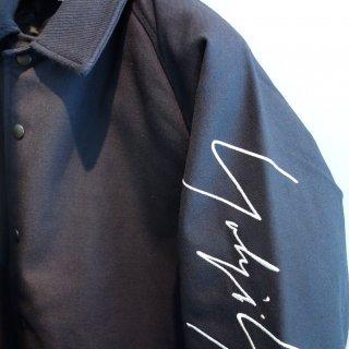 YOHJI YAMAMOTO NEW ERA Wool Coach Jacket Fall & Winter 2016 NVY SLV