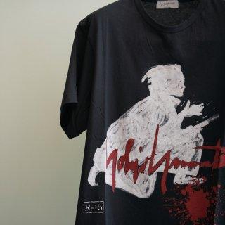 YOHJI YAMAMOTO 侍プリントTシャツ(HK-T06-073)