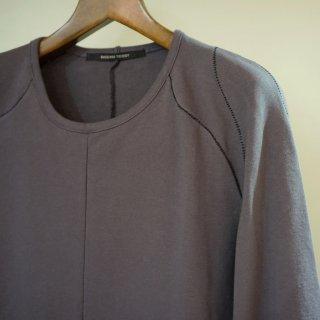 SADDAM TEISSY ロングスリーブTシャツ(ST101-0077A)C.GRY
