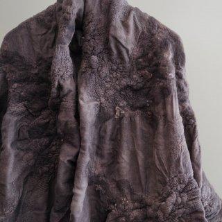 BIEK VERSTAPPEN wensleydale merino stole-grey