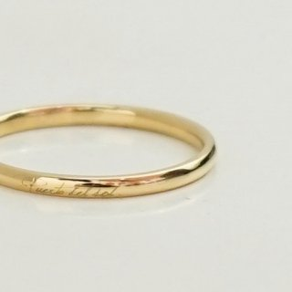 PERTA DEL SOL  K18 YELLOWGOLD RING(R941YG)