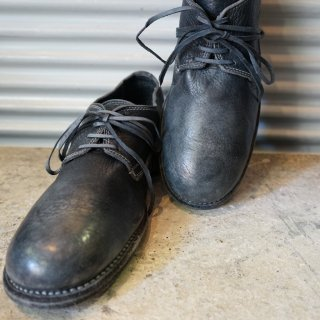 GUIDI DONKEY FULL GRAIN LINED CLASSIC DERBY SOLE LEATHER