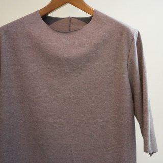 incarnation co92% el8% cut&sewn carved seam short sleeve(31682-3310SS)GRY