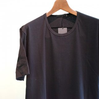 The Viridi-anne 40/-天竺Tシャツ(VI-2896-01)BLK