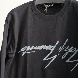 Ground Y 逆さYYグラフィックプリント(GD-T36-071)¥9720