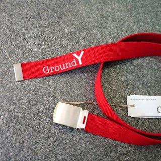Ground Y ロゴ入りガチャベルト(GK-F03-090)¥6480
