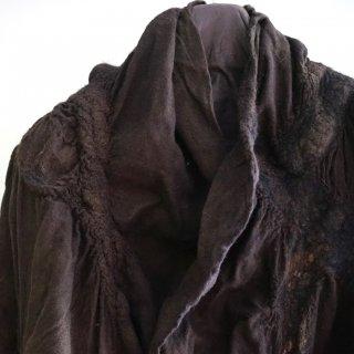 BIEK VERSTAPPEN wensleydale merino scarf(01)brownish