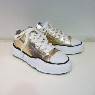 Maison MIHARA YASUHIROoriginal sole leather lowcut sneaker(A03FW706)GLD