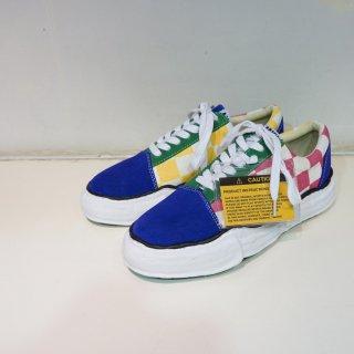 Maison MIHARA YASUHIRO original sole BIG gingham lowcut sneaker(A03FW708)MLT
