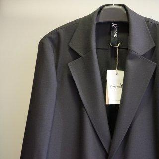 Ground Y Gaberdine Box Long Jacket(GN-C01-100)