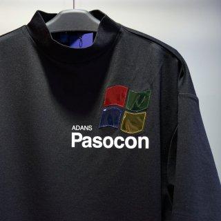 ADANS PASOCON TEE(AD201TS01)BLK
