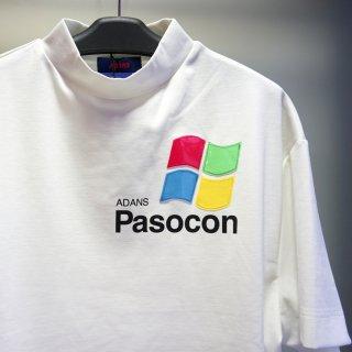 ADANS PASOCON TEE(AD201TS01)WHT