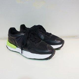 Maison MIHARA YASUHIRO original sole running  sneaker(A04FW719)BLK