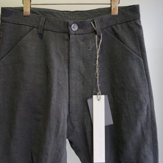 BIEK VERSTAPPEN bou trousers linen wool(archive-TR4-M)