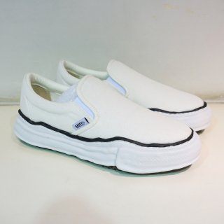 Maison MIHARA YASUHIRO original sole slipon sneaker(A02FW705)WHT