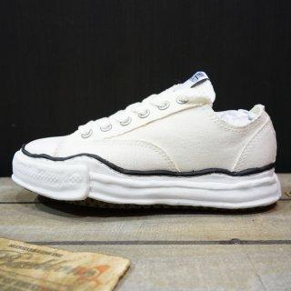 Maison MIHARA YASUHIRO original sole canvas lowcut sneaker(A01FW702)WHT
