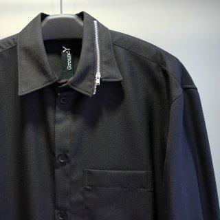 GroundY Zipper collar shirt(GR-B09-100)