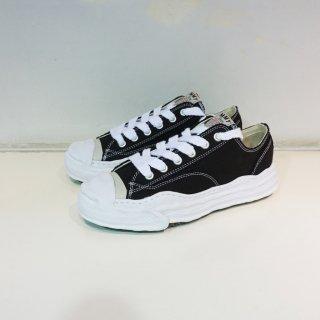 Maison MIHARA YASUHIRO Toe cap Original sole Canvas Sneaker Low top(A05FW702)BLK
