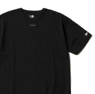 YOHJI YAMAMOTO HOMME x New Era®半袖 コットン Tシャツ Yohji Yamamoto FW20 シグネチャーミニロゴ(HR-T94-077)