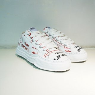 Maison MIHARA YASUHIRO original sole diskunion leather low-top sneaker(A04FW714)WHT