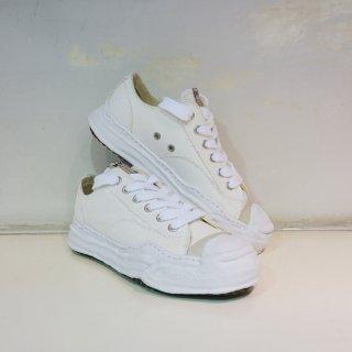 Maison MIHARA YASUHIRO Toe cap Original sole Canvas Sneaker Low top(A05FW702)WHT