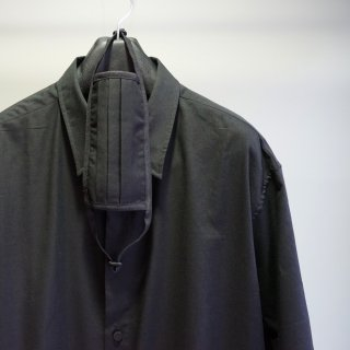 ISAMUKATAYAMA BACKLASH コットンレーヨン サファイアクール シャツ(1940-02)
