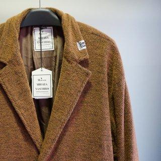 Maison MIHARA YASUHIRO Shrank Reversible CottonWool Coat(A05CT051)