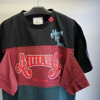 Maison MIHARA YASUHIRO Border Docking T-shirt(A06TS651)