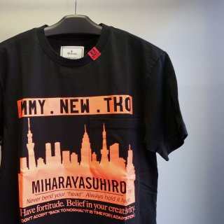 Maison MIHARA YASUHIRO Skyline Printed T-shirt(A06TS672)