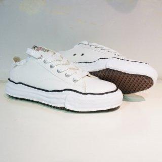 Maison MIHARA YASUHIRO original sole canvas low top sneaker(A01FW702)WHT