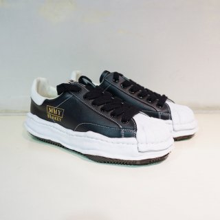 Maison MIHARA YASUHIRO OG Sole Shellcap Leather Low-top Sneaker(A06FW702)BLK