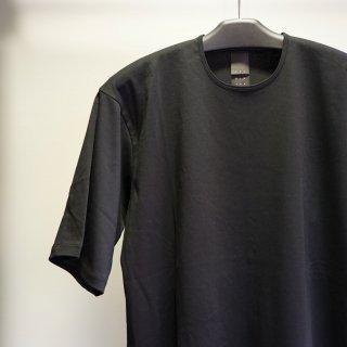 The Viridi-anne Cotton Smooth Half Sleeve T-Shirt(VI-3349-01)BLK