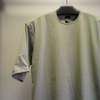 The Viridi-anne Cotton Smooth Half Sleeve T-Shirt(VI-3349-01)S.GRN