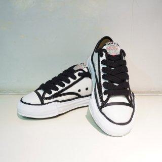 Maison MIHARA YASUHIRO original sole canvas piping low top sneaker(A04FW707)WHT