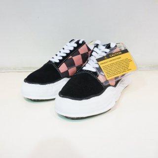 Maison MIHARA YASUHIRO original sole BIG gingham lowcut sneaker(A03FW708)PNK