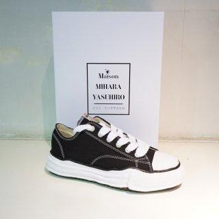 Maison MIHARA YASUHIRO Original Sole Canvas Low-top Sneaker(A01FW702)BLK