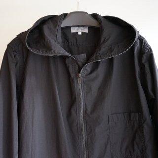 YOHJI YAMAMOTO HOMME 環縫いブロード フードシャツ(HD-B04-001)